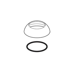 DELTA® RP75404BL Ara® Cap and O-Ring, For Use With Ara® 568LF and 768LF 1-Handle Channel Lavatory Faucet, Matte Black, Import