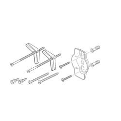 Brizo® RP75593 Vesi® Mounting Hardware, Import