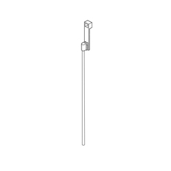 DELTA® RP90058BL Ara® Lift Rod and Slider, For Use With Ara® 567LF 1-Handle Lavatory Faucet, Import