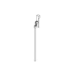 DELTA® RP90061BL Ara® Lift Rod and Slider, For Use With Ara® 3568LF-MPU Widespread Lavatory Faucet, Import