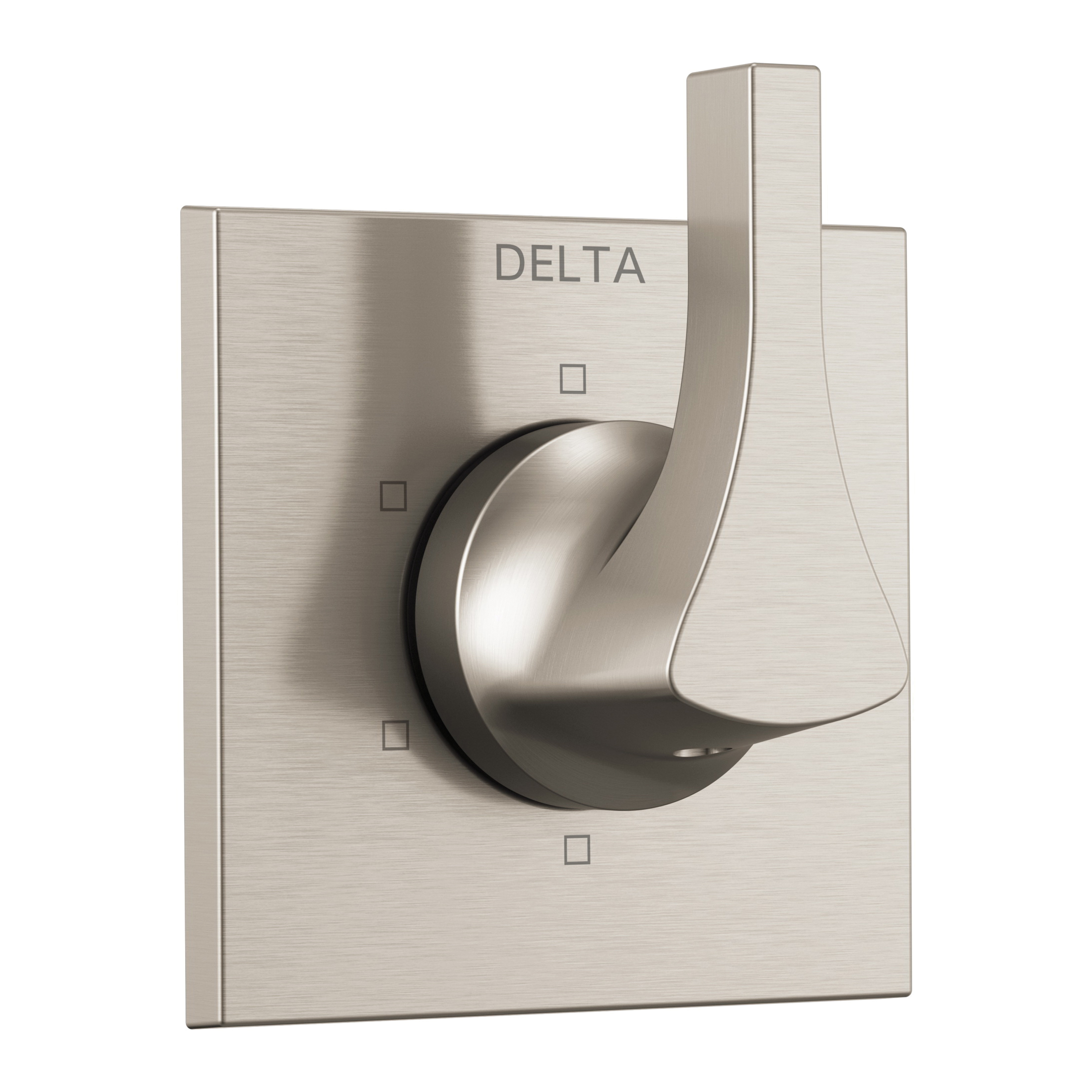 DELTA® T11974-SS 3-Port 6-Setting Diverter Trim, Hand Shower Yes/No: No, Brilliance® Stainless Steel