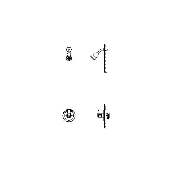 DELTA® T13H182 Universal Shower Valve Only, 1.5 gpm Shower, Hand Shower Yes/No: No, Polished Chrome