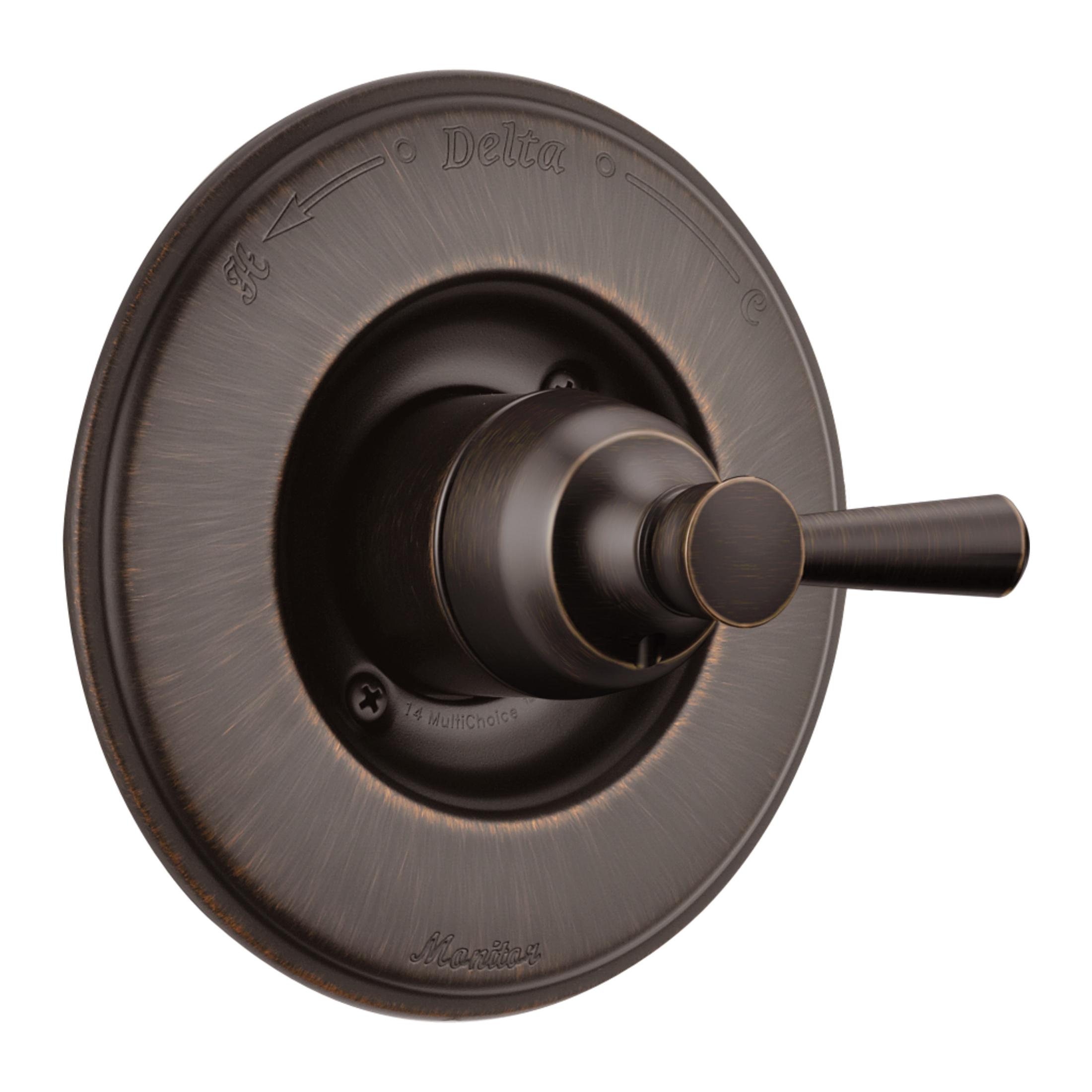 DELTA® T14093-RB Monitor® 14 Valve Trim Only, 1.5 gpm Shower, Venetian Bronze