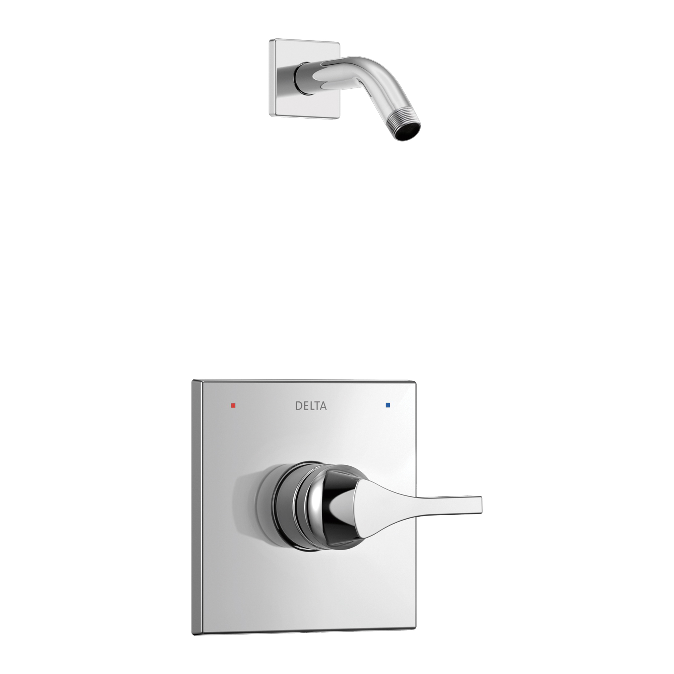 DELTA® T14274-LHD Monitor® 14 Shower Trim, Hand Shower Yes/No: No, Chrome Plated