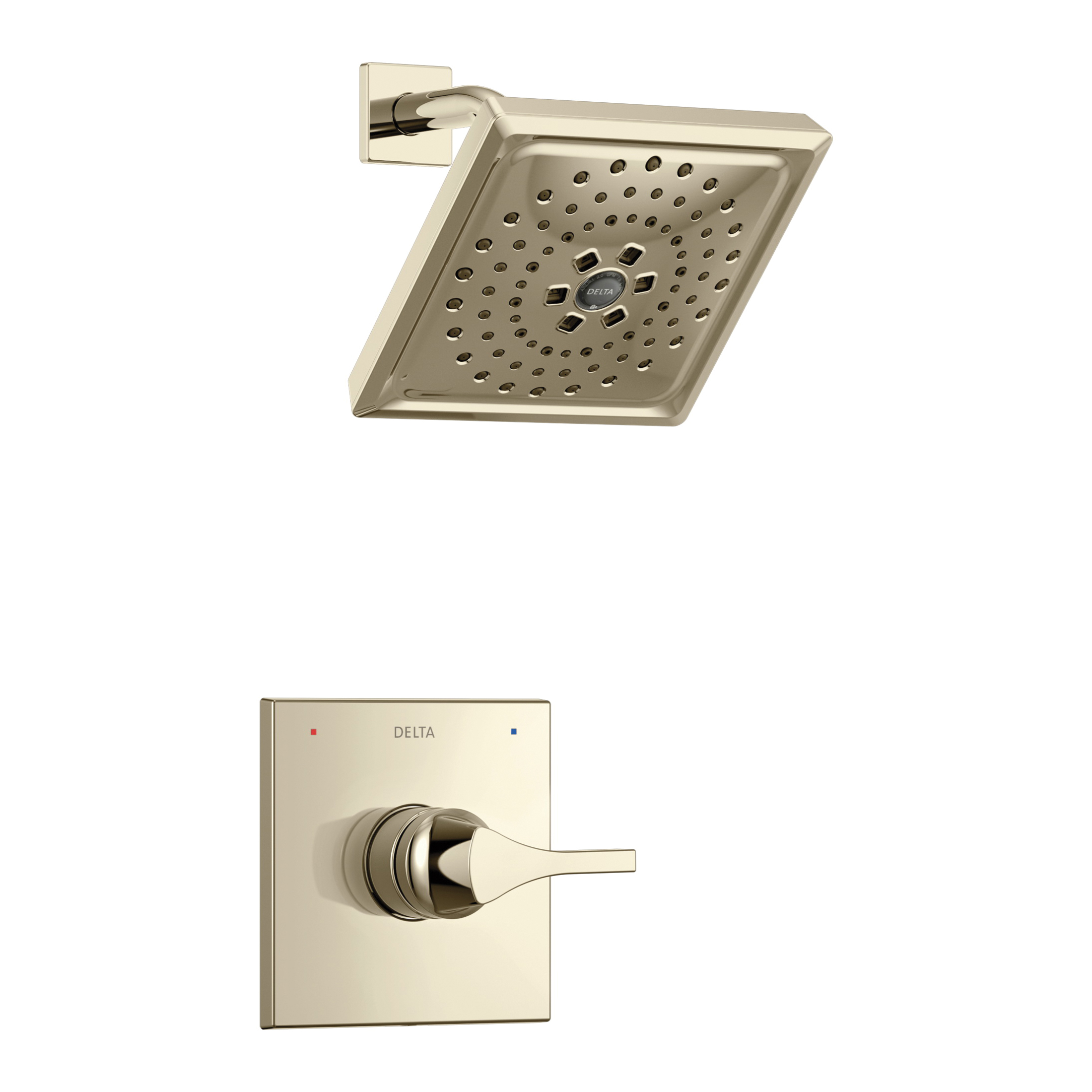 DELTA® T14274-PN Monitor® 14 Shower Trim, 1.75 gpm Shower, Hand Shower Yes/No: No, Brilliance® Polished Nickel
