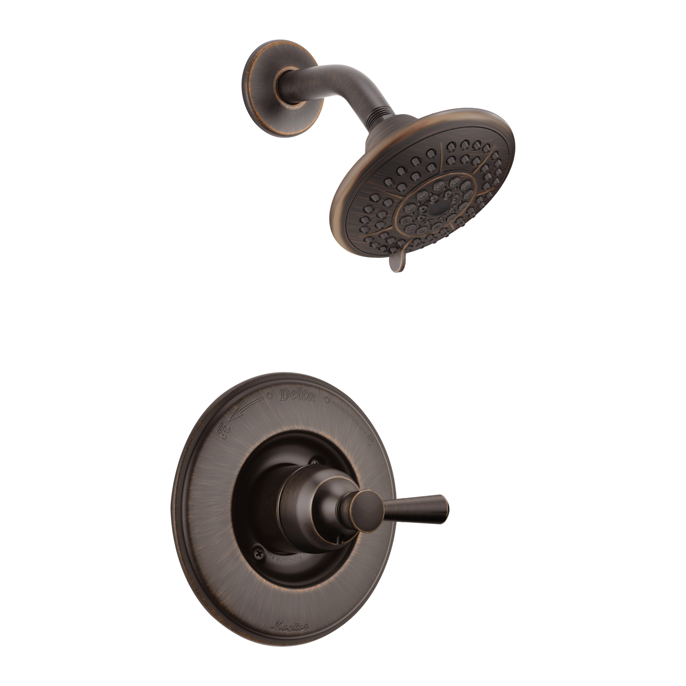 DELTA® T14293-RB Monitor® 14 Traditional Shower Trim, 1.75 gpm Shower, Hand Shower Yes/No: No, Venetian Bronze