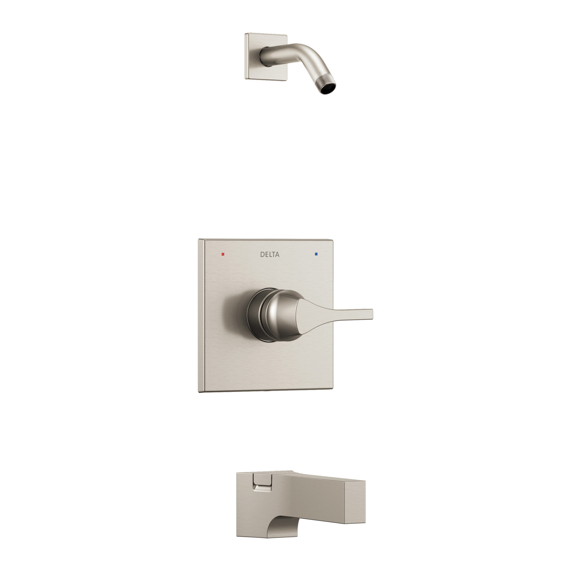 DELTA® T14474-SSLHD Monitor® 14 Tub and Shower Trim, Hand Shower Yes/No: No, Brilliance® Stainless Steel