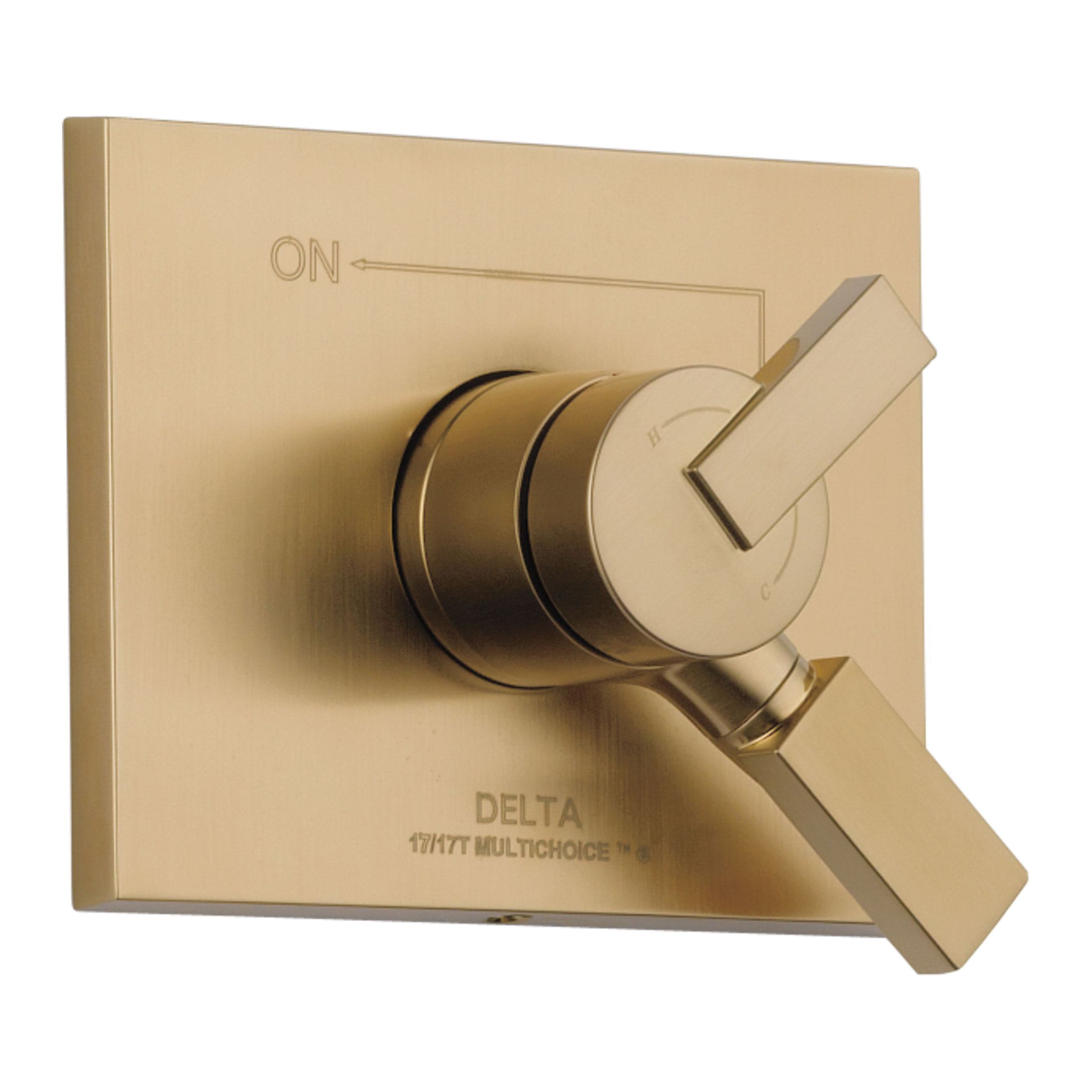 DELTA® T17053-CZ Monitor® 17 Vero® Valve Trim Only, 2.5 gpm Shower, Champagne Bronze