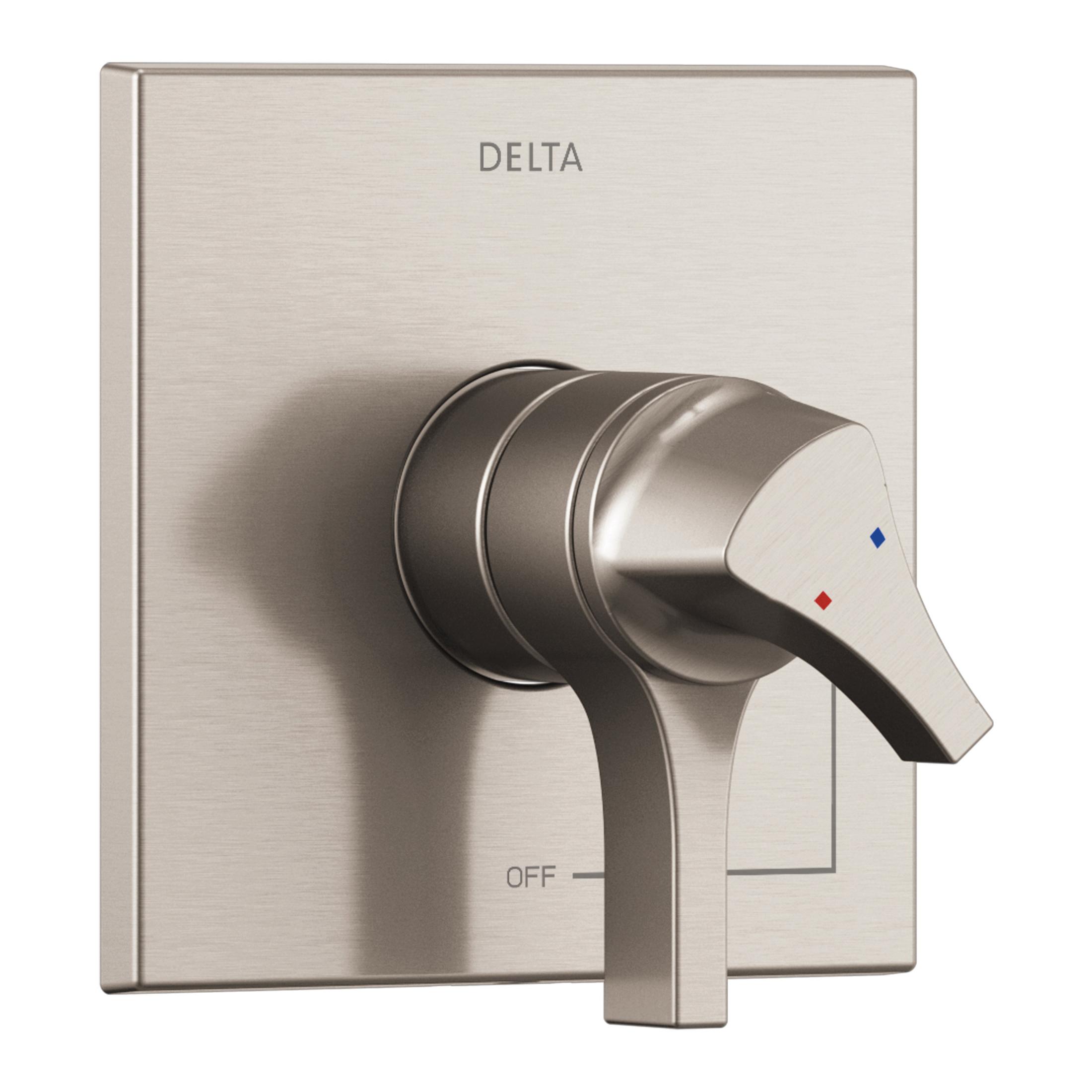 DELTA® T17074-SS Monitor® 17 Zura™ Valve Trim Only, 2 gpm Shower, Stainless Steel