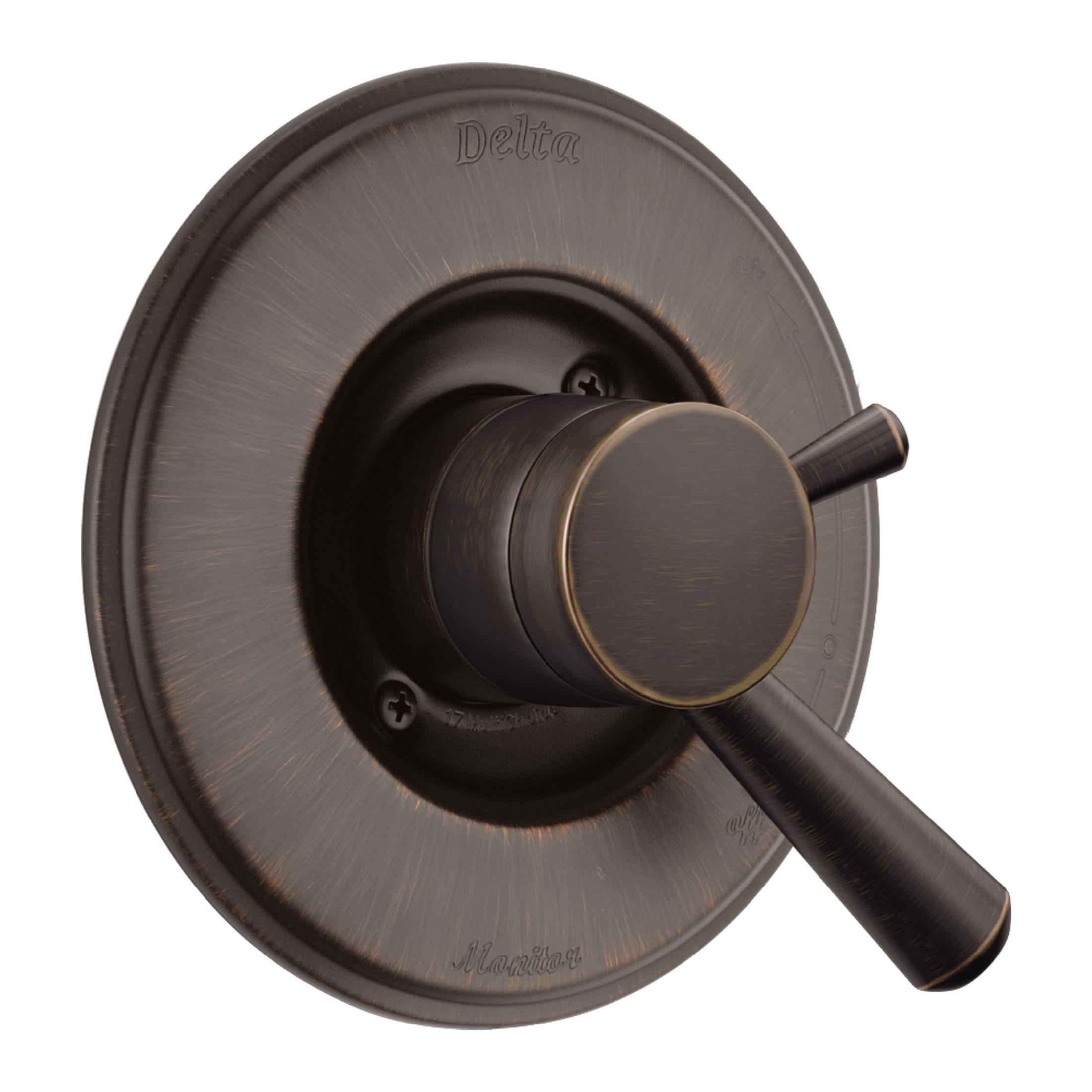 DELTA® T17093-RB Monitor® 17 Linden™ Valve Trim Only, 2 gpm Shower, Venetian Bronze