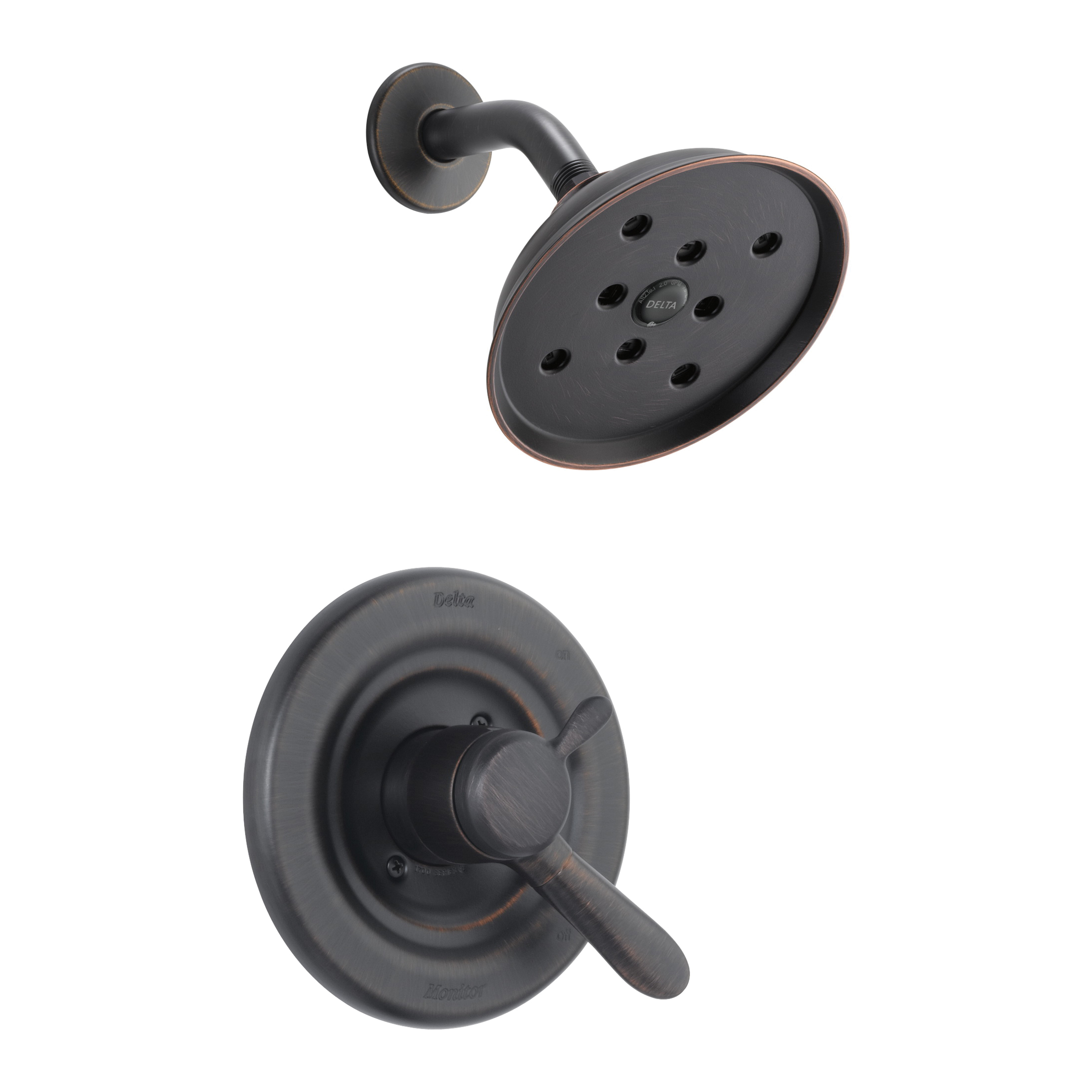 DELTA® T17238-RBH2O Monitor® 17 Lahara® Shower Trim, 1.75 gpm Shower, Hand Shower Yes/No: No, Venetian Bronze