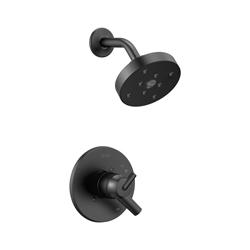 DELTA® T17259-BL Monitor® 17 Trinsic® Shower Trim, 1.75 gpm Shower, Hand Shower Yes/No: No, Matte Black