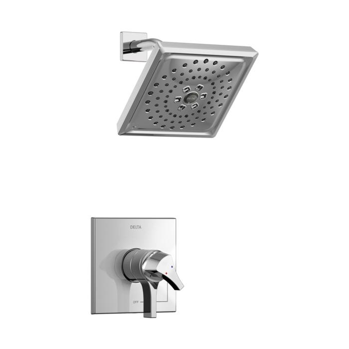 DELTA® T17274 Monitor® 17 Zura™ Shower Trim, 1.75 gpm Shower, Hand Shower Yes/No: No, Chrome Plated