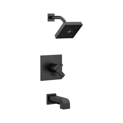 DELTA® T17467-BL Monitor® 17 Tub and Shower Trim, 1.75 gpm Shower, Hand Shower Yes/No: No, Matte Black
