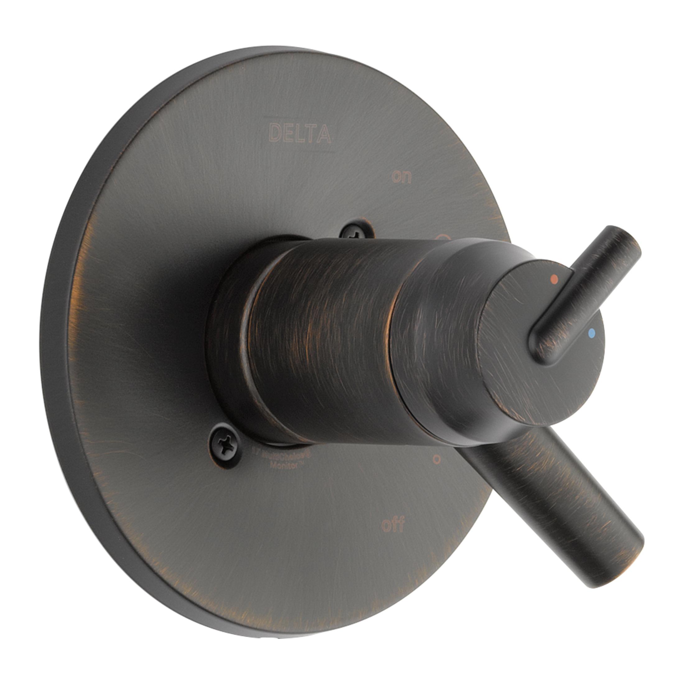 DELTA® T17T059-RB TempAssure® 17T Valve Trim Only, 1.75 gpm Shower, Venetian Bronze