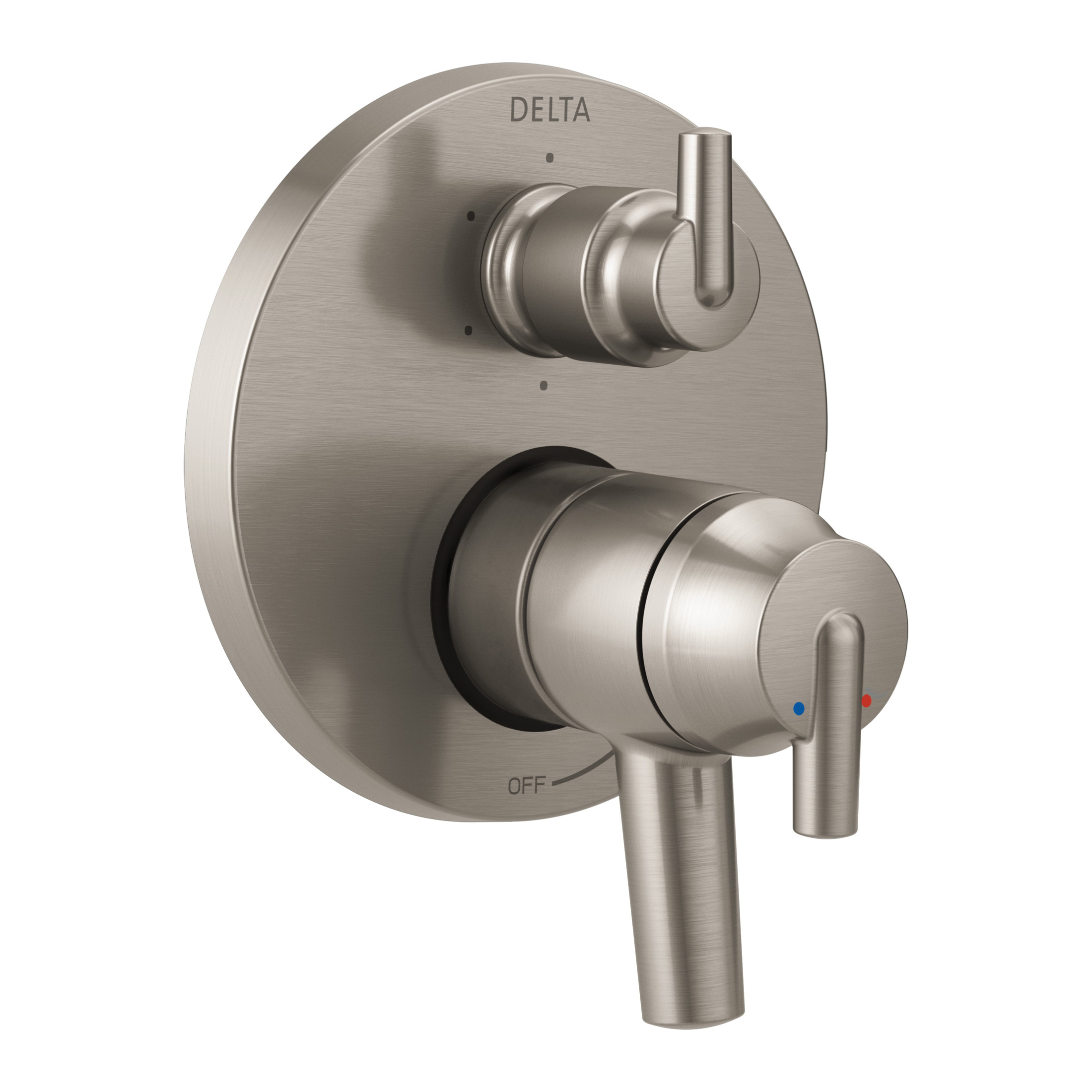DELTA® T27959-SS Monitor® 17 6-Setting Contemporary Valve Trim, Stainless Steel