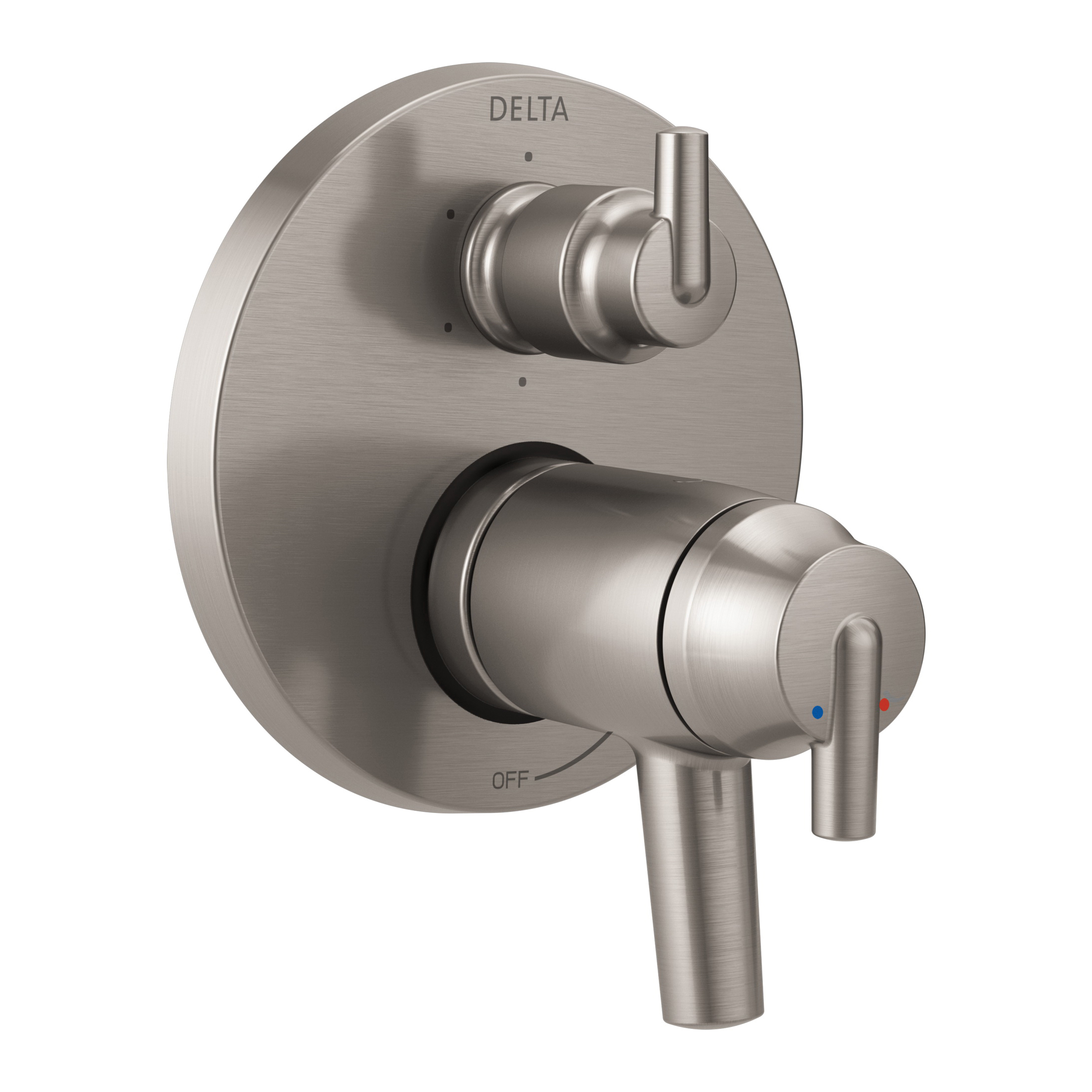 DELTA® T27T959-SS TempAssure® 17T Contemporary Valve Trim, Stainless Steel
