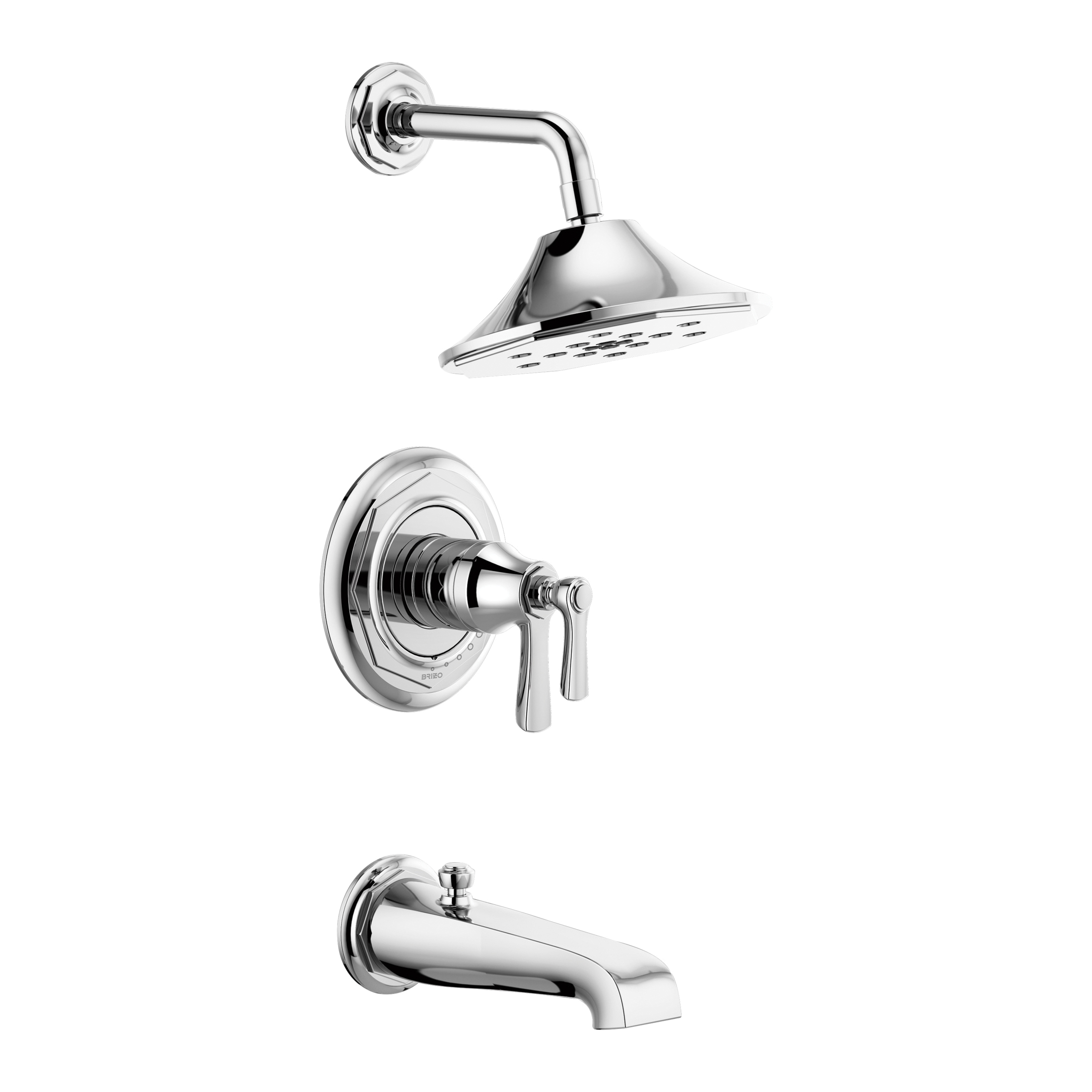 Consolidated Supply Co Brizo T60461 Pc Tempassure Tub And Shower Faucet Trim 2 Gpm Shower Hand Shower Yes No No Chrome Plated