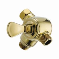 DELTA® U4929-PB-PK 3-Way Shower Arm Diverter, Hand Shower Yes/No: No, Polished Brass