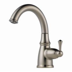 Brizo® 61310LF-SS Traditional® Beverage Faucet, 1.5 gpm, 1 Handle, Stainless Steel, Domestic