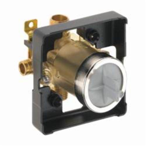 DELTA® R10000-MFWS MultiChoice® Universal Tub and Shower Rough Valve Body With Stops, Brass, Domestic