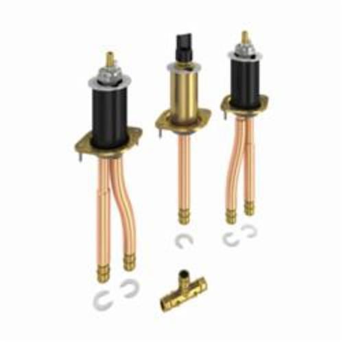 DELTA® R2707-MF Rough-In Installation Kit, 1/2 in, PEX, 60 psi, Brass, Domestic