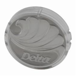 DELTA® RP17446 Button, For Use With 1-Handle Lavatory/Tub and Shower, Plastic, Chrome Plated, Domestic