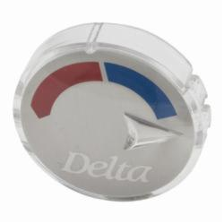 DELTA® RP20542 Hot/Cold Indicator Button, For Use With 13 and 14 Series Tub and Shower Faucet, Domestic