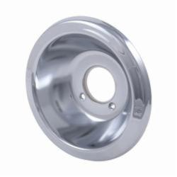 DELTA® RP6019 Deep Escutcheon, For Use With 600 and 1600 Series Tub and Shower, 7 in L x 7 in H x 1-1/2 in W, Chrome Plated, Domestic