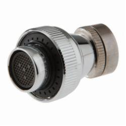 DELTA® RP63137 Round Spray Aerator, For Use With Bathroom Sink Faucet, 2.2 gpm, Metal, Chrome Plated, Domestic