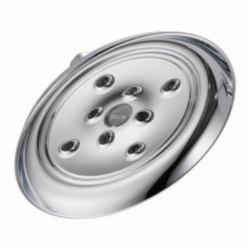 DELTA® RP70172 Single-Setting Raincan Shower Head, 2 gpm, 1 Spray, Wall Mount, 7-29/32 in Dia Head, Import