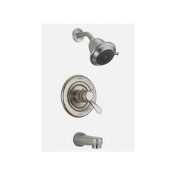 DELTA® T17430-SSSOS Monitor® 17 Tub and Shower Trim, 1.75 gpm Shower, Hand Shower Yes/No: No, Brilliance® Stainless Steel