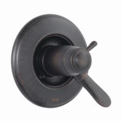 DELTA® T17T038-RB TempAssure® 17T 2-Function Valve Trim, Venetian Bronze