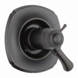 DELTA® T17T092-RB TempAssure® 17T 2-Function Valve Trim, 2.5 gpm Shower, Venetian Bronze