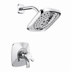 DELTA® T17T252 TempAssure® 17T Shower Trim, 1.75 gpm Shower, Hand Shower Yes/No: No, Chrome Plated