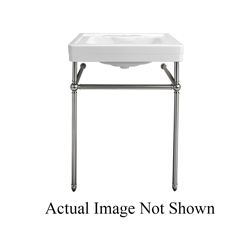 DXV D20015001.415 Fitzgerald® One Hole Lavatory Slab Only, 22 in L x 28 in W x 7-1/2 in H