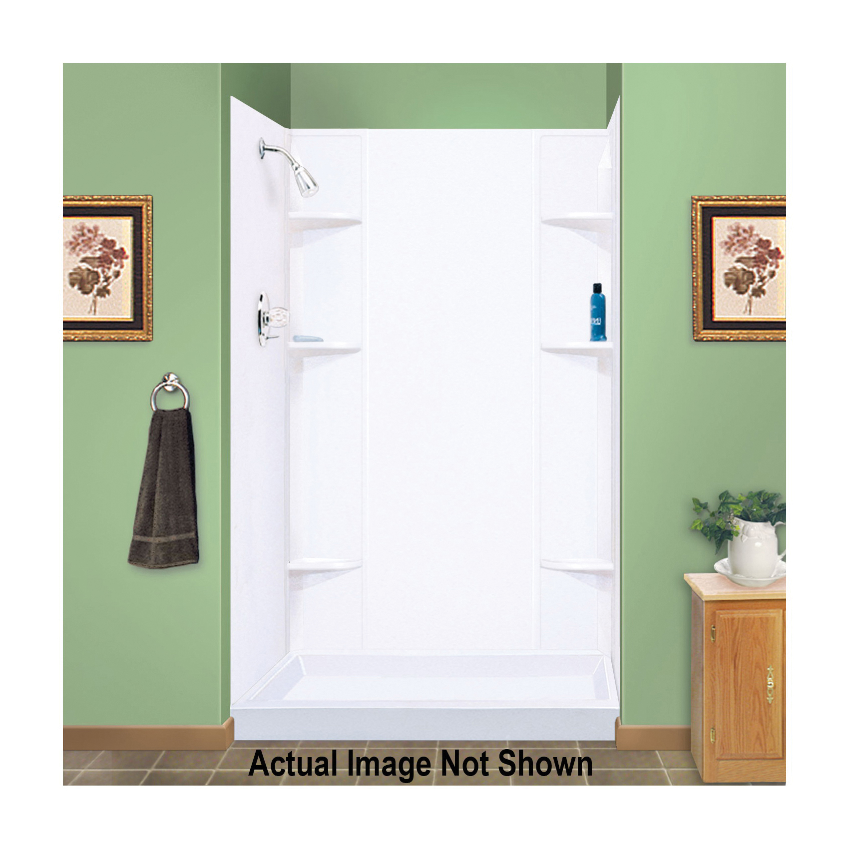 Consolidated Supply Co. | ELM® 260 DURAWALL® Shower Wall, 71-1/2 in ...