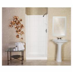 ELM® 572TWHT VARISTONE™ Shower Wall, 72 in H, Fiberglass