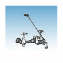 ELM® 63.600A Heavy Duty MOP Service Faucet, Chrome Plated, 2 Handles