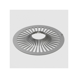Ebbe America E103 Hair Trap, 3.14 sq-in, Stainless Clad/Polycarbonate