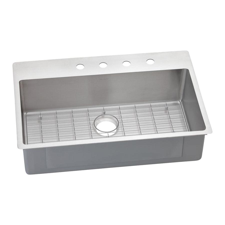 Elkay® ECTSRS33229BG1 Crosstown™ Dual Mount Sink Kit, Rectangle, 30 1/