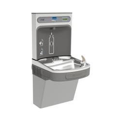 Elkay® EZS8WSLK Non-Filtered Bottle Filling Station and Cooler, 1.1 gpm, Sensor Operation, Refrigerated Chilling, Domestic