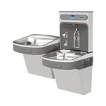 Elkay® EZSTLDDWSSK Non-Filtered Bottle Filling Station and Bi-Level Cooler, 1.5 gpm, Push Bar/Sensor Operation, Non-Refrigerated Chilling, Domestic