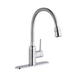 Elkay® LK2500CR Pursuit™ Laundry/Utility Faucet, 1.5 gpm, 1 Handle, Chrome Plated, Import