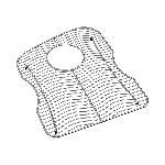 Elkay® LKWOBG1520LSS Bottom Grid, 13-1/2 in L x 17-5/16 in W x 1-1/8 in H, Import