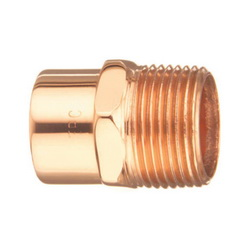 EPC 10030290 104 Solder Male Adapter, 1/4 in, C x M, Wrought Copper