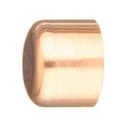 EPC 10020095 117 Solder AC-R Tube Cap, 1/4 in, C, Wrot Copper