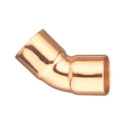 EPC KleenFit™ 10231092 106 Solder 45 deg Elbow, 3/8 in, C x C, Wrought Copper
