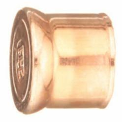 EPC 10032022 116 Solder Fitting End Plug, 1/2 in, C x C, Wrought Copper