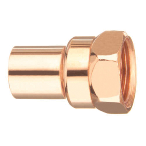 EPC 10030236 103-2 Solder Female Street Adapter, 1/2 in, Fitting x FNPT, Copper, Domestic